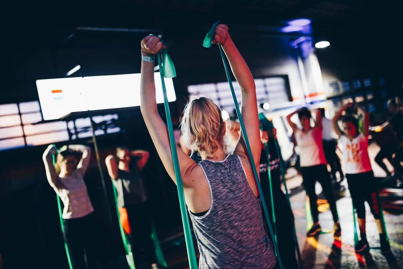 Фитнес клуб, музыка для фитнес клуба, музыка для спорта